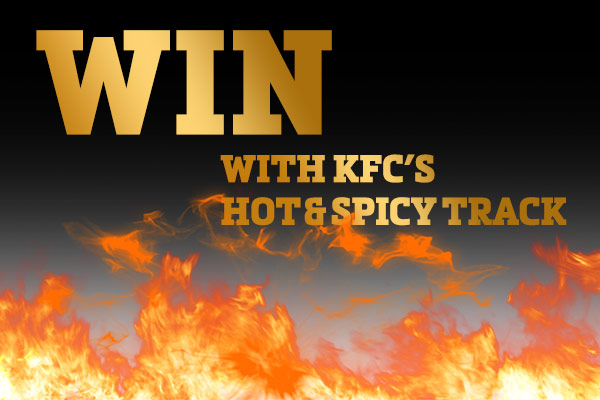 Win with the KFC Hot + Spicy Track!