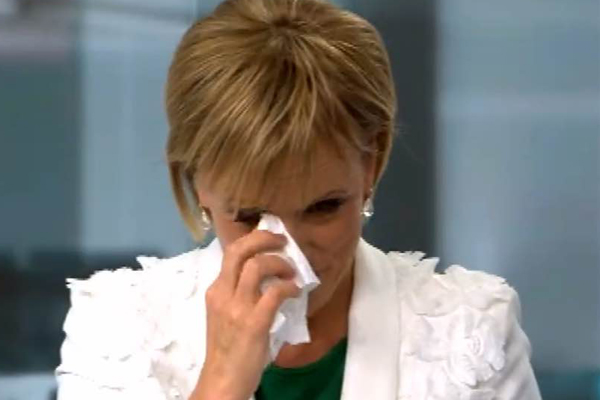 WATCH: Hilary Barry signs of for the very last time