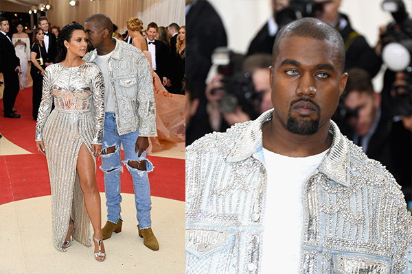 Kim Kardashian stuns alongside Kanye West at the 2016 Met Gala