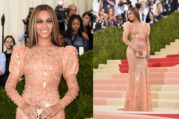 Poll: Hot or Not? Beyonce rocks latex gown to the 2016 Met Gala