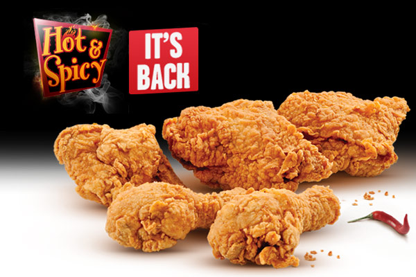 Win this Lunch Breaks thanks to KFC's Hot + Spicy!