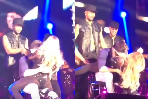 WATCH: Mariah Carey's awkward lap dance