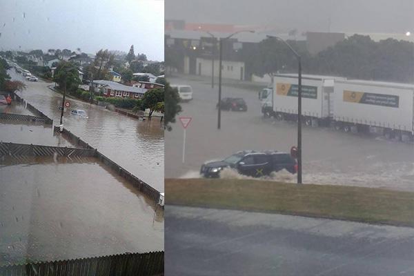 Flooding shuts down Porirua area