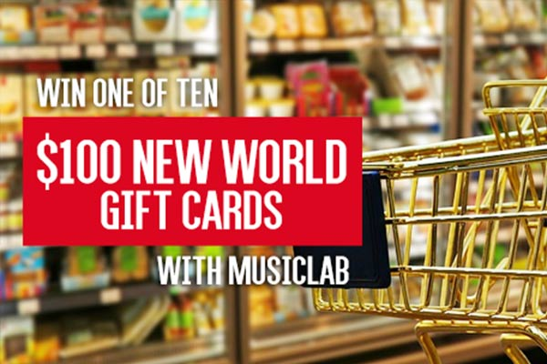 WIN $100 New World Vouchers