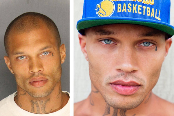 Hot Felon shares his first modeling photo