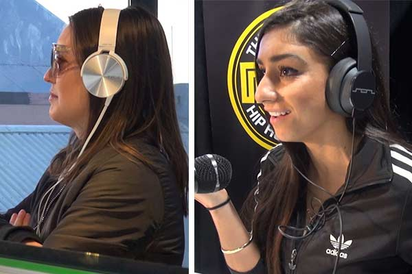 WATCH: Lily storms out of Naz interview