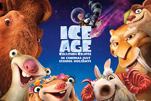 Win tickets to see Ice Age: Collision Course!