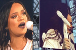 VIDEO: Rihanna breaks down into tears on stage