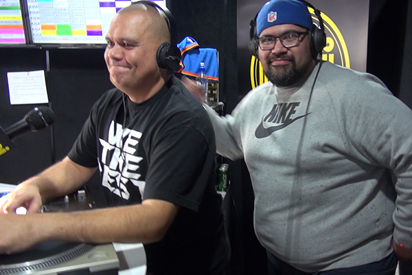 """WATCH: Phil sings Next's hit """"Too Close"""" while Nate grinds on him"""
