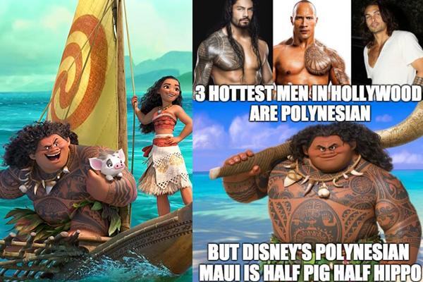 PHOTOS: Disney's 'fat' Maui slammed