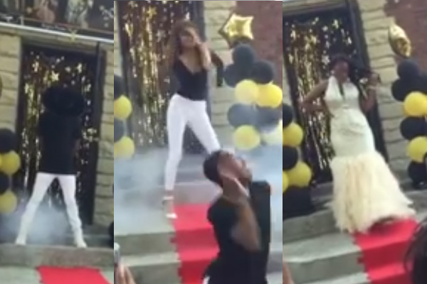 Girl recreates Beyonce's 'Formation' for her Prom entrance