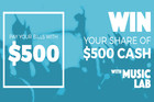 WIN your share of $500