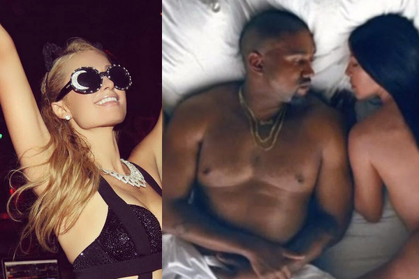 Paris Hilton reminds Kanye West who made Kim Kardashian Famous