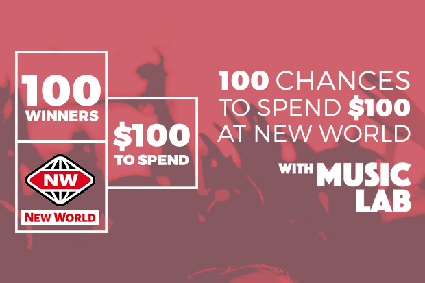 100 x $100 New World vouchers up for grabs!