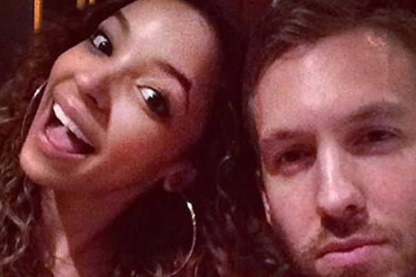 Tinashe coupled up with Taylor Swift's ex Calvin Harris