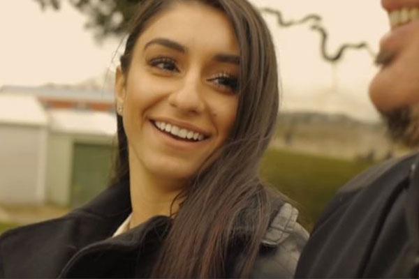 Naz stars in music video