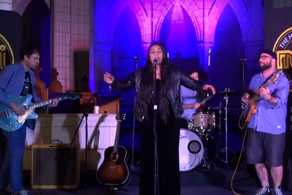 WATCH: Aaradhna performs 'Great Man' LIVE at St Matthews Church