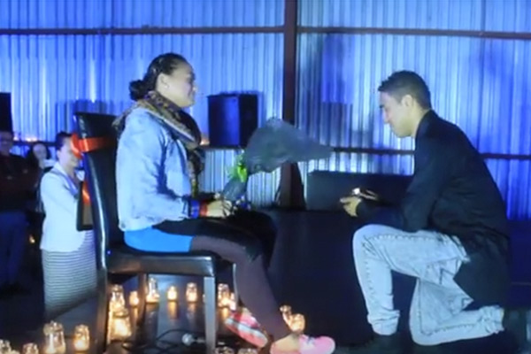 This surprise dance marriage proposal will melt your heart