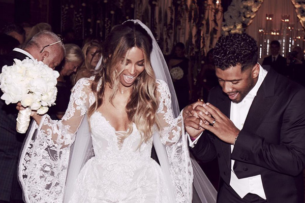 PHOTOS: Ciara and Russell Wilson are officially married!