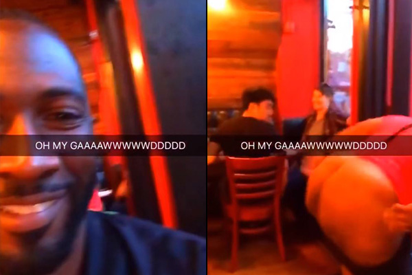 Guy snapchats woman quitting her job by brown-eyeing her boss